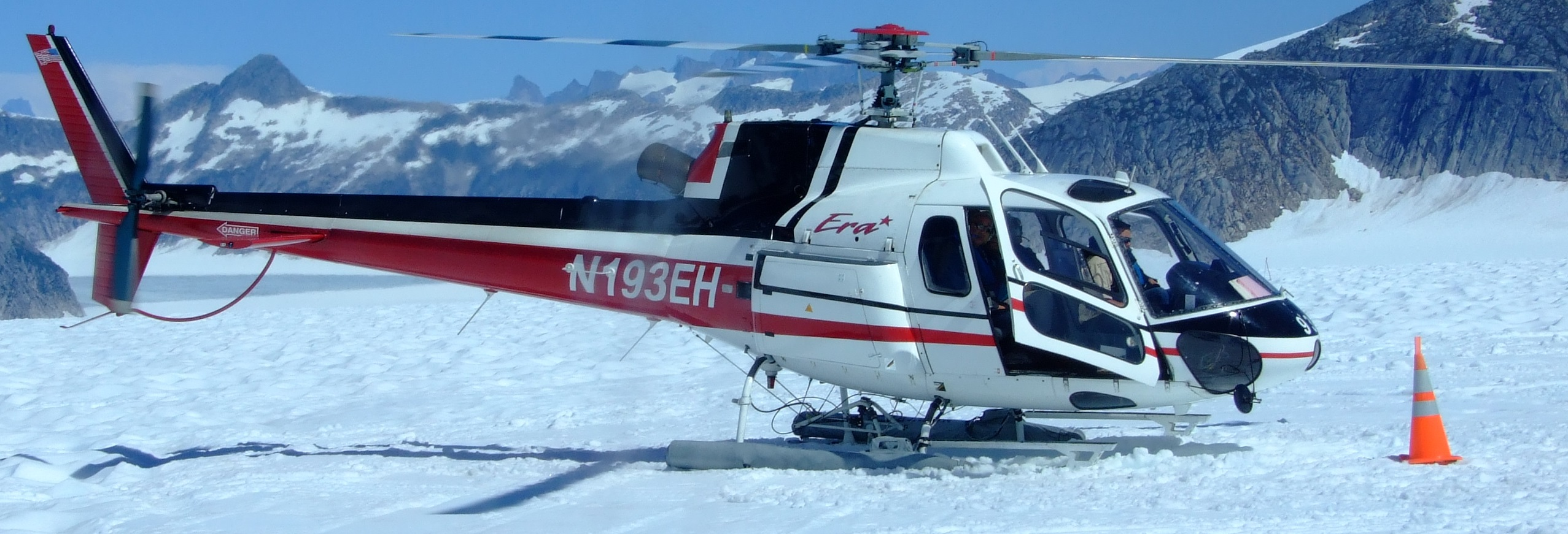 Era has a total fleet of 31 AS350 helicopters, 11 of which are based in Alaska and are used for tourist trips out of Juneau and around Denali.