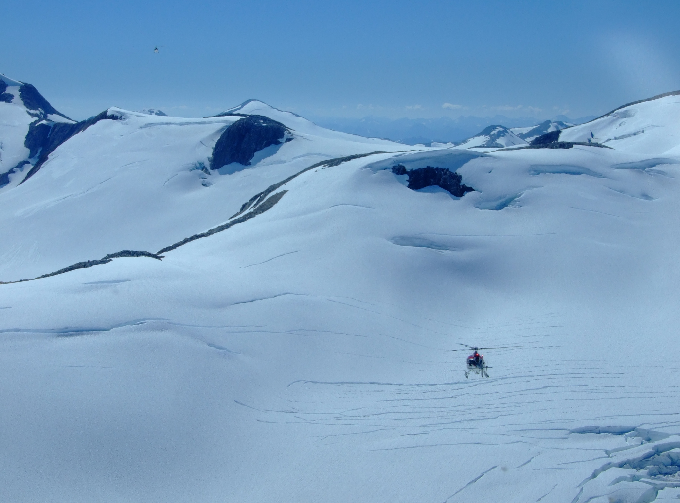 The Juneau Icefield with Era Helicopters