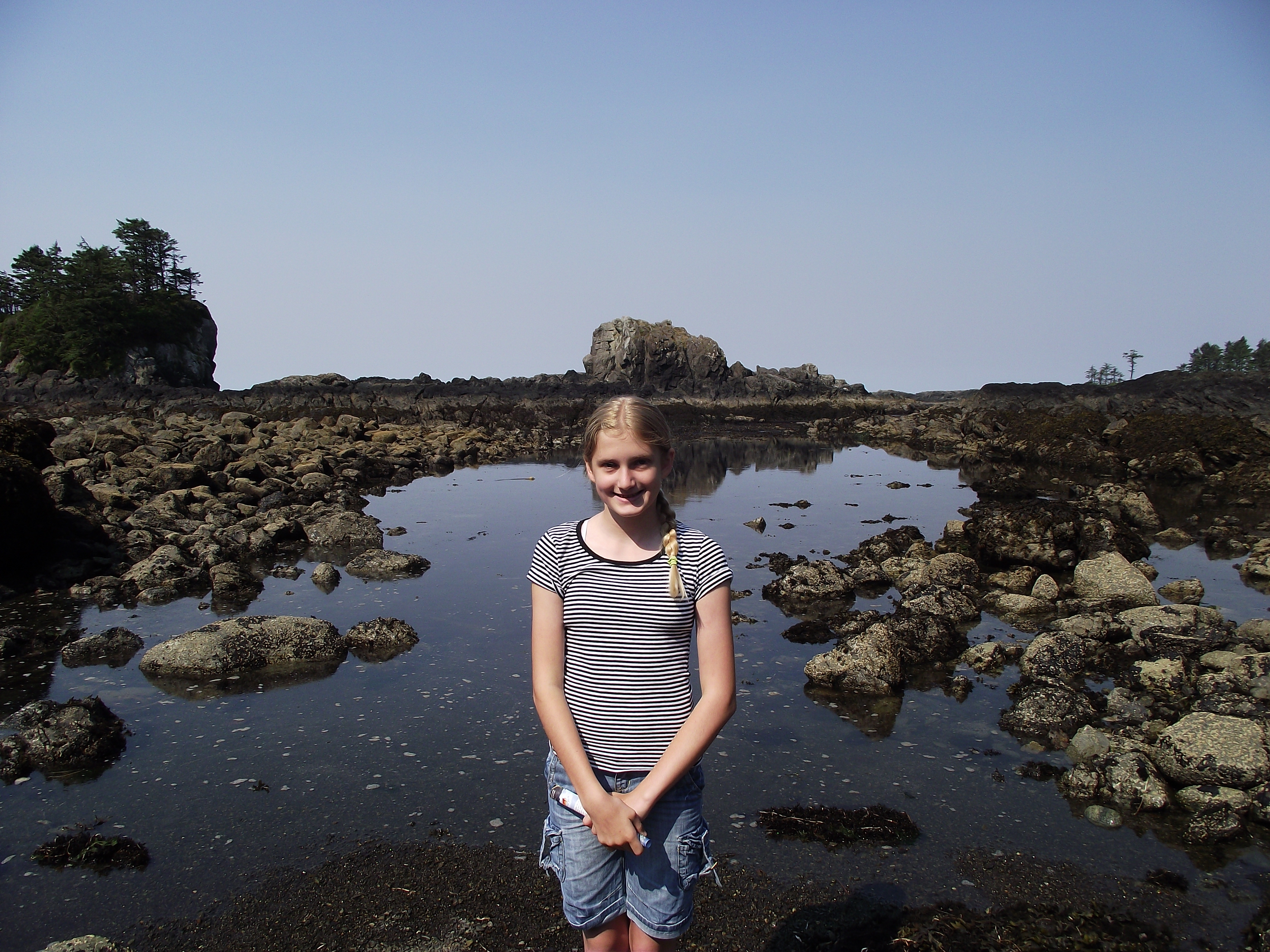 At low tide levels like this there is a huge expanse to explore more of the rich biodiversity of this region.